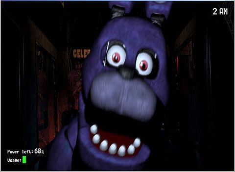 Screenshots of the Five nights at Freddy's game for iPhone, iPad or iPod.