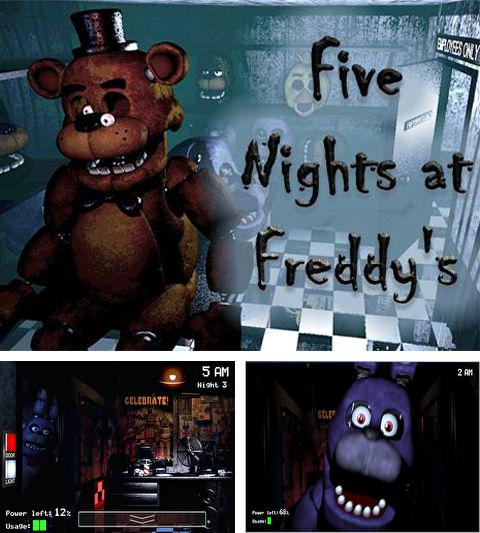 Alem do jogo Vermes 3 para iPhone, iPad ou iPod, voce tambem pode baixar Cinco noites com Freddy, Five nights at Freddy's gratuitamente.