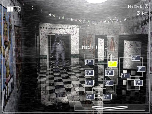 Capturas de pantalla del juego Five nights at Freddy's 2 para iPhone, iPad o iPod.
