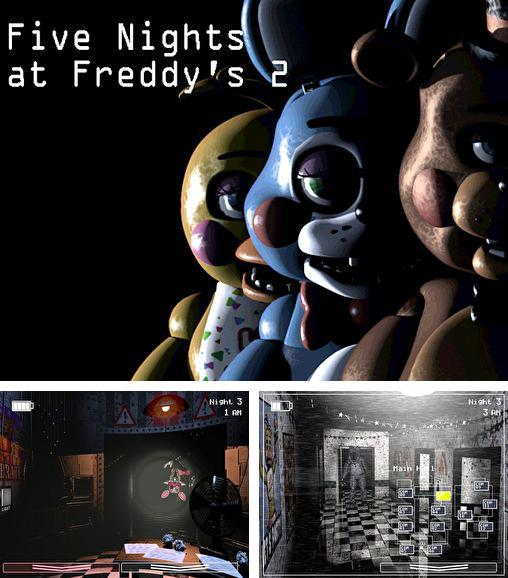 Alem do jogo Porcos maus para iPhone, iPad ou iPod, voce tambem pode baixar Cinco noites com Freddy 2, Five nights at Freddy's 2 gratuitamente.