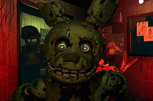 Screenshots of the Five nights at Freddy's 3 game for iPhone, iPad or iPod.