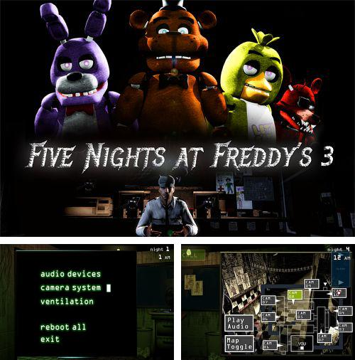 Alem do jogo Os Robôs do Futuro 3D para iPhone, iPad ou iPod, voce tambem pode baixar Cinco noites com Freddy 3, Five nights at Freddy's 3 gratuitamente.