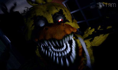 Écrans du jeu Five nights at Freddy's 4 pour iPhone, iPad ou iPod.