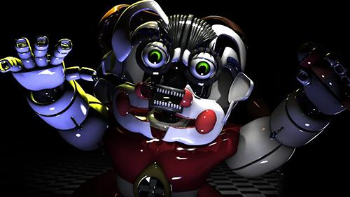 Screenshots of the Five nights at Freddy's: Sister location game for iPhone, iPad or iPod.