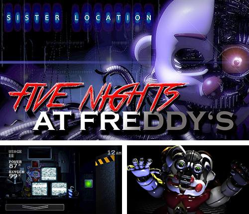 Download Five nights at Freddy's: Sister location iPhone free game.