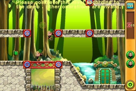 Capturas de pantalla del juego Five tiger generals para iPhone, iPad o iPod.