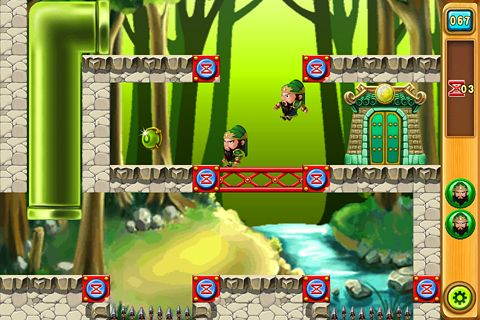 Écrans du jeu Five tiger generals pour iPhone, iPad ou iPod.