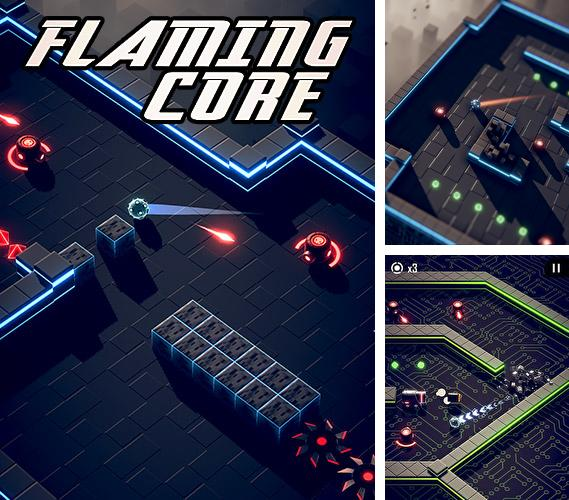 Download Flaming core iPhone free game.