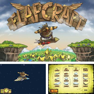In addition to the game Hugo Troll Race for iPhone, iPad or iPod, you can also download Flapcraft for free.