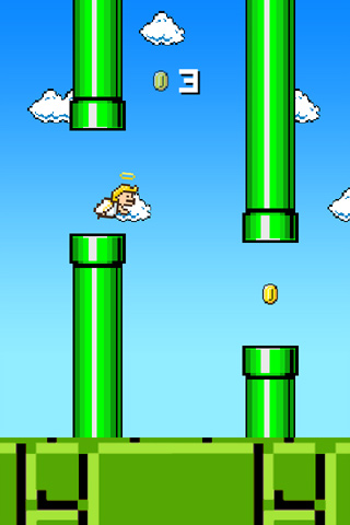 Free Flappy angel download for iPhone, iPad and iPod.