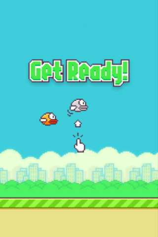 Download Flappy bird iPhone free game.