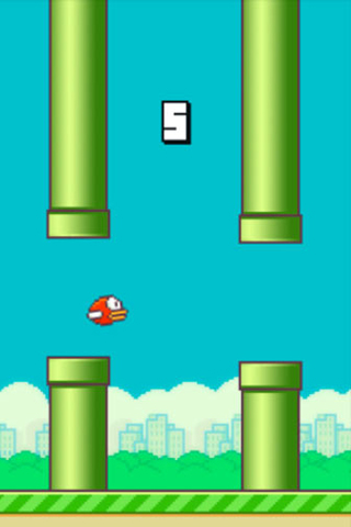 Baixe Flappy bird gratuitamente para iPhone, iPad e iPod.