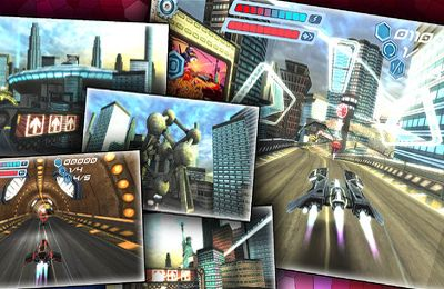 Screenshots of the FLASHOUT 3D game for iPhone, iPad or iPod.