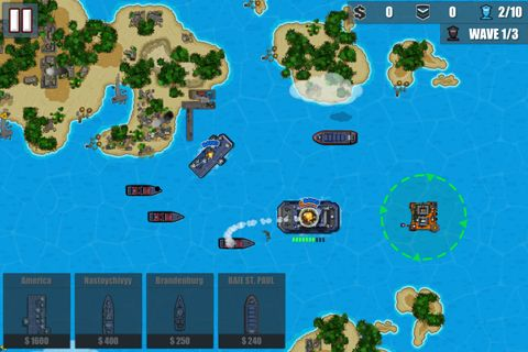 Free Fleet combat 2: Shattered oceans download for iPhone, iPad and iPod.