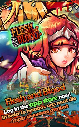 Download Flesh & Blood – Attack on Orc iPhone free game.