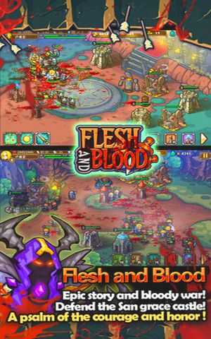 Free Flesh & Blood – Attack on Orc download for iPhone, iPad and iPod.