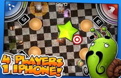 Capturas de pantalla del juego Flick Buddies para iPhone, iPad o iPod.