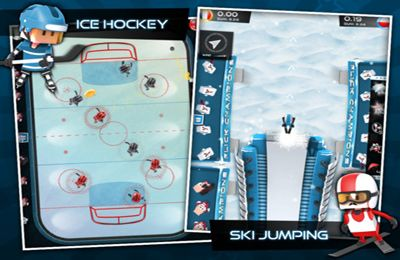 Free Flick Champions Winter Sports download for iPhone, iPad and iPod.