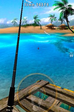 Download Flick Fishing iPhone free game.