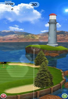 Free Flick Golf! download for iPhone, iPad and iPod.