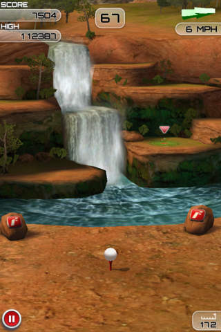 Descarga gratuita de Flick Golf Extreme! para iPhone, iPad y iPod.