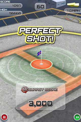 Capturas de pantalla del juego Flick Golf Extreme! para iPhone, iPad o iPod.