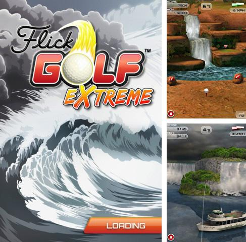 In addition to the game Mechcom 2 for iPhone, iPad or iPod, you can also download Flick Golf Extreme! for free.
