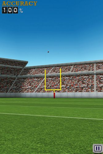 Free Flick kick field goal download for iPhone, iPad and iPod.
