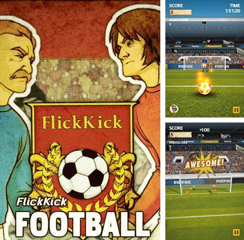 Download Flick kick football iPhone free game.