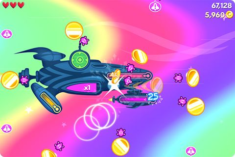 Игра Flight control rocket для iPhone