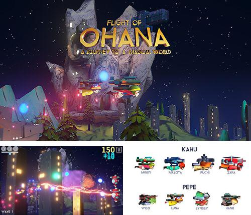 Además del juego Omega: Primer movimiento para iPhone, iPad o iPod, también puedes descargarte gratis Flight of Ohana: A journey to a magical world.