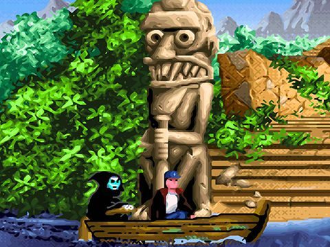Игра Flight of the Amazon queen для iPhone
