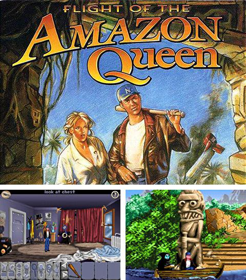 除了 iPhone、iPad 或 iPod 疯狂博士游戏,您还可以免费下载Flight of the Amazon queen, 。