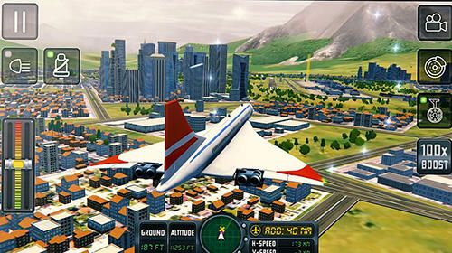 Free Flight sim 2018 download for iPhone, iPad and iPod.