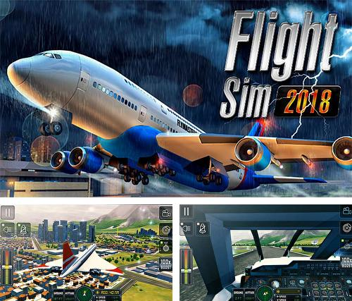 In addition to the game Nitro nation: Online for iPhone, iPad or iPod, you can also download Flight sim 2018 for free.