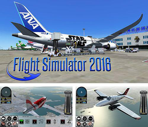 In addition to the game The walking dead: No man's land for iPhone, iPad or iPod, you can also download Flight simulator 2016 for free.