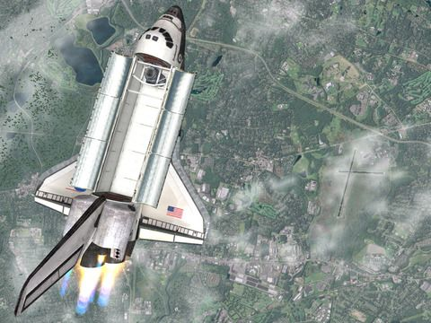 Écrans du jeu Flight simulator online 2014 pour iPhone, iPad ou iPod.