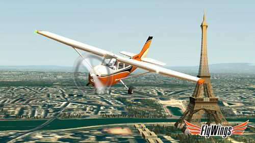 Скачать Flight simulator: Paris 2015 на iPhone бесплатно