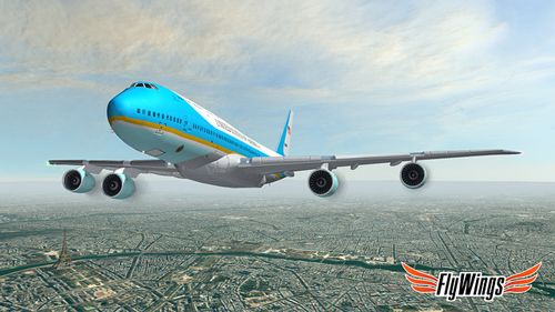 Capturas de pantalla del juego Flight simulator: Paris 2015 para iPhone, iPad o iPod.