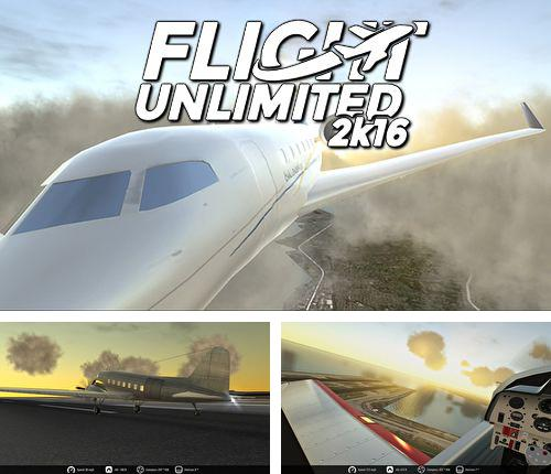 In addition to the game Enigmo 2 for iPhone, iPad or iPod, you can also download Flight unlimited 2K16 for free.