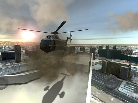 Скачати Flight unlimited: Helicopter на iPhone безкоштовно.