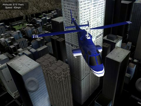 Скачать игру Flight unlimited: Helicopter для iPad.