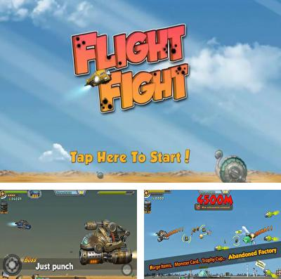 In addition to the game 9 elements for iPhone, iPad or iPod, you can also download FlightFight! for free.