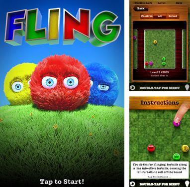 In addition to the game Assault commando 2 for iPhone, iPad or iPod, you can also download Fling! for free.