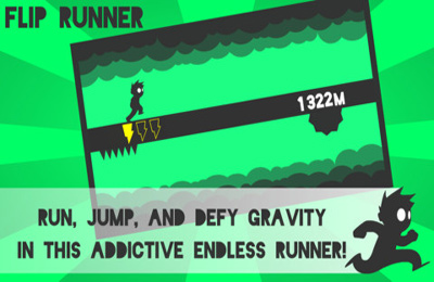 Capturas de pantalla del juego Flip Runner! para iPhone, iPad o iPod.