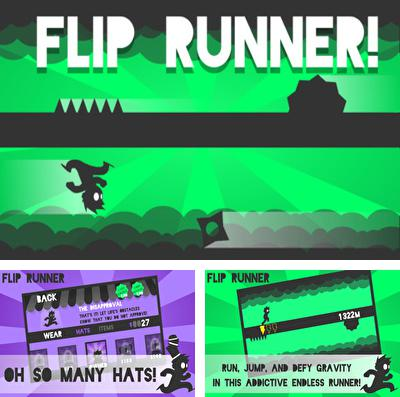 In addition to the game Devil Hunter I for iPhone, iPad or iPod, you can also download Flip Runner! for free.
