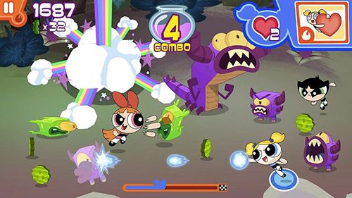 Скачать Flipped out: The powerpuff girls на iPhone бесплатно
