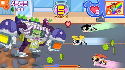 Descarga gratuita de Flipped out: The powerpuff girls para iPhone, iPad y iPod.