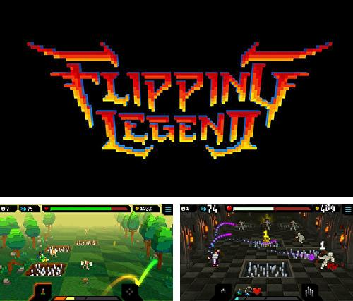 In addition to the game Majesty: The Fantasy Kingdom Sim for iPhone, iPad or iPod, you can also download Flipping legend for free.