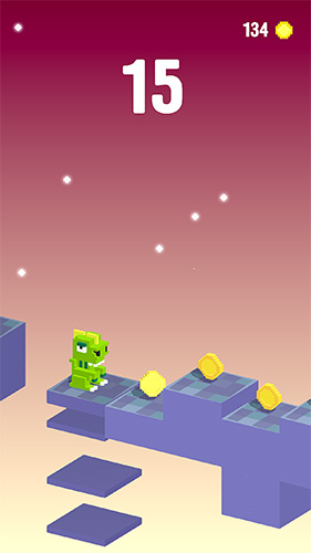 Screenshots of the Flippy toy game for iPhone, iPad or iPod.